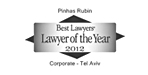 Best Lawyers International 2012