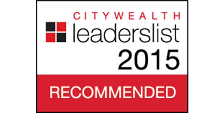 Citywealth Leaders List 2015