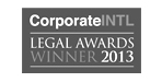 Corporate INTL Legal Awards 2013