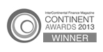 InterContinental Finance Continent Awards 2013